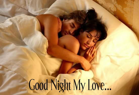 Good Night My Love Romantic Couple In Good Night Good Night Wishes Inspirational Goodnight Greetings Pictures