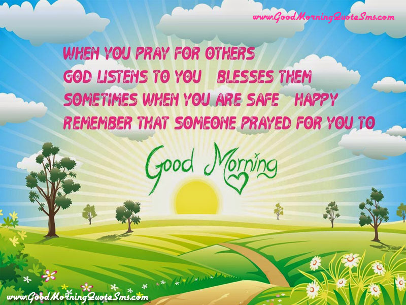 Good Morning Prayer Sms Happy Morning Images Good Morning Quotes