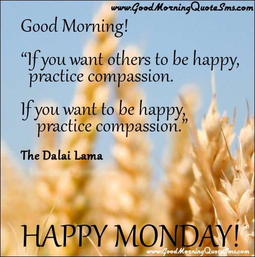 Happy Monday Quotes Pictures, Good Morning Inspirational Quotes, SMS Images, Wallpapers, Photos, Pictures Download