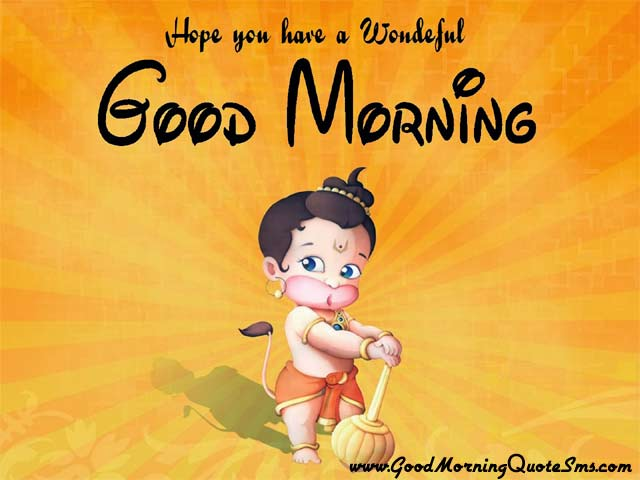 Lord Hanuman Good Morning Pictures - God Hanuman Happy Morning SMS, Quotes, Wishes Images, Wallpapers, Photos, Pictures