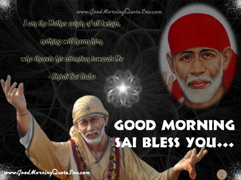 Good Morning Shirdi Sai Images, Wallpapers, Photos, Pictures