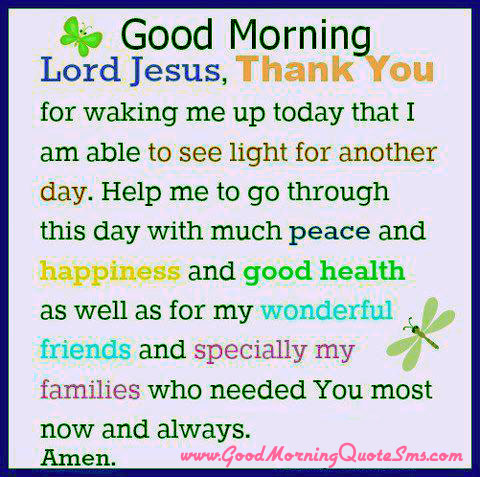 Jesus Christ Good Morning Quotes Early Morning Wisdom Blessings Messages