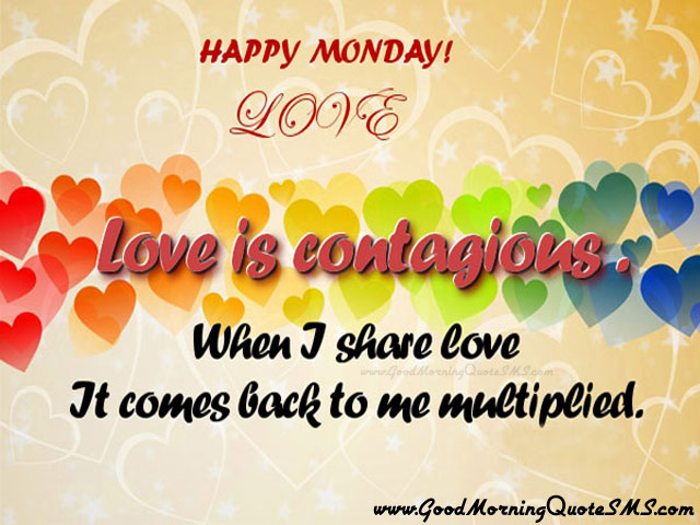 Good Morning Monday Greetings - Happy Monday Messages, Thoughts Images, Wallpapers, Photos, Pictures Download