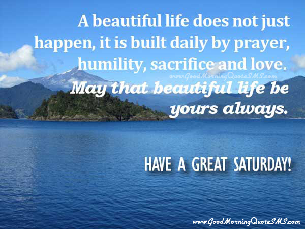 Happy Saturday Quotes Images