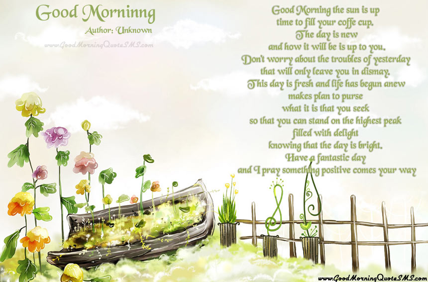 Beautiful Poems about wishing Happy Morning Images, Wallpapers, Photos, Pictures
