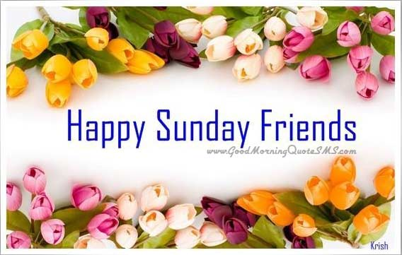Happy Sunday friends images, wallpapers