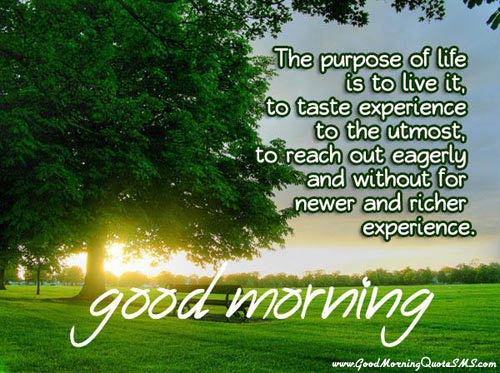 Good Morning inspiring Poems which fills you positive energy for day