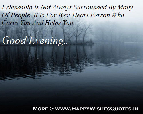 Good Evening Wishes for Friends, Images, Wallpapers, Photos