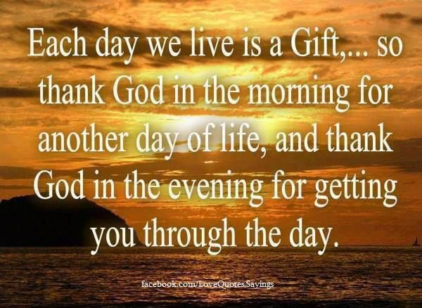 Good Morning Thank you god for blessings quotes wishes