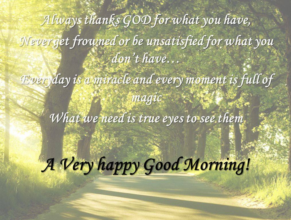 Good Morning Thanks You God Quotes Images