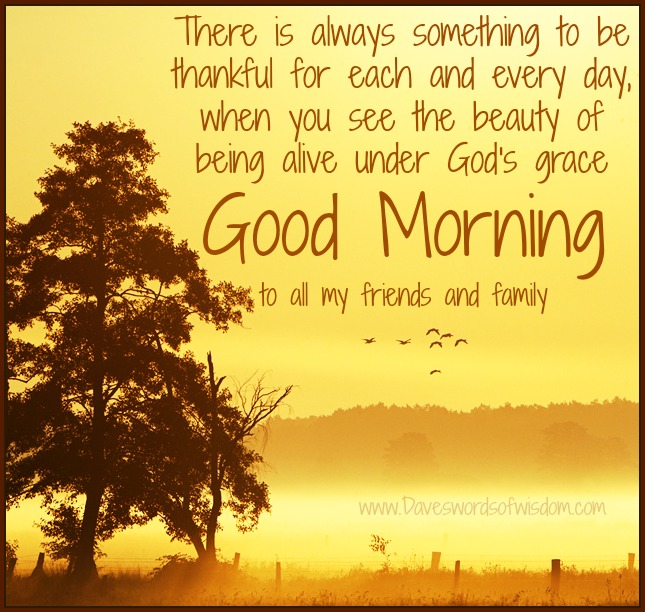 Good Morning Quotes for Friends and Family with Images