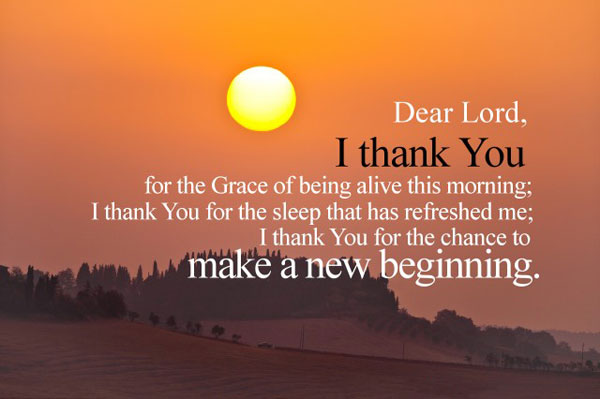 Dear Lord I Thank You Sunday Greetings Cards Images