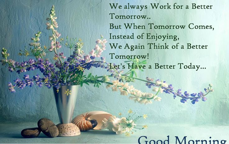 Good Morning Have a Better Today