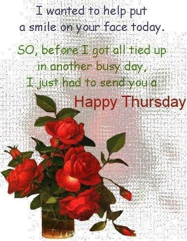 Happy Thursday Wishes Thursday Morning Images