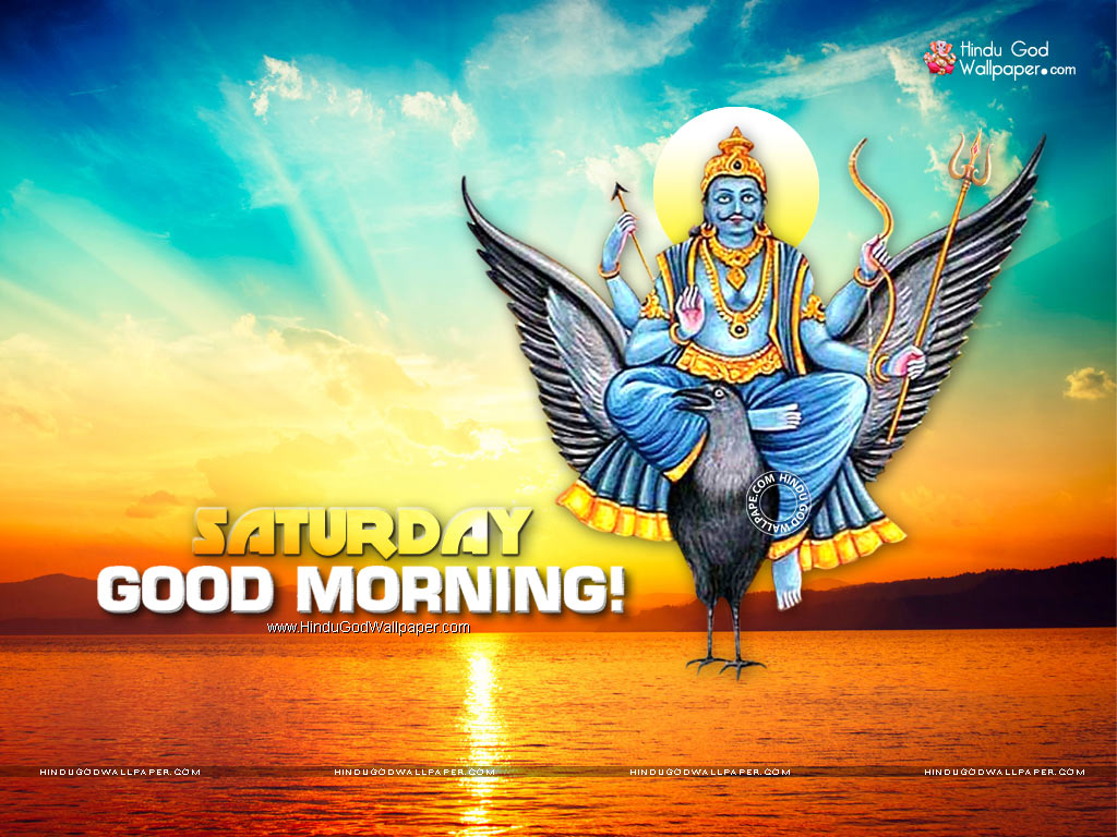 Lord Shani Dev Saturday Good Morning Wishes