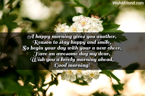 Good Morning Lovely Wishes Quotes for Crush with Images