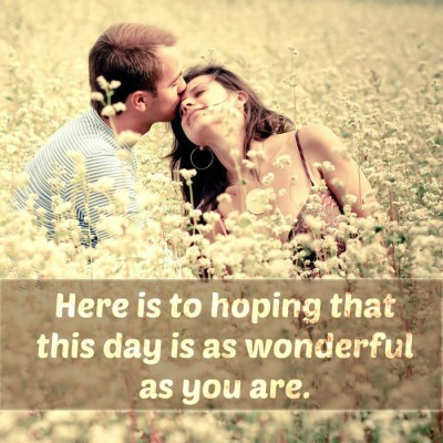 Good Morning Text Messages to Your Crush - Have a wonderful day Images Wallpapers