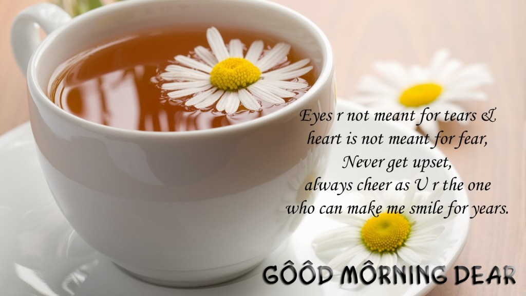 Good Morning Wishes With Quotes Wallpaper