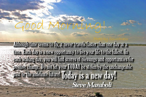 Today is New Day Best Good Morning Quotes Wallpapers